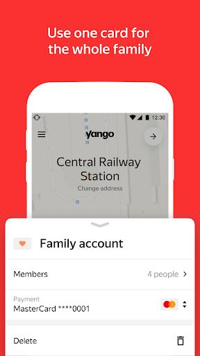Yango Ride-Hailing Service screenshots 7