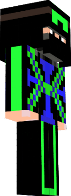 zöld-kék-fekete-lovag