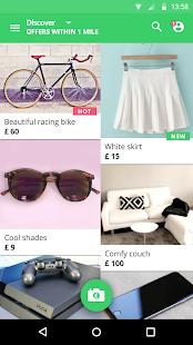 Shpock boot sale & classifieds Screenshot 1