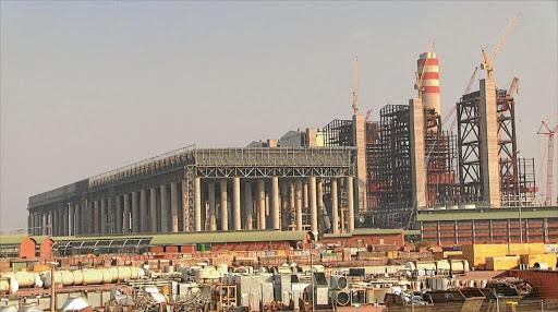 Medupi power station under construction. Picture: MAKWENA MANAMELA
