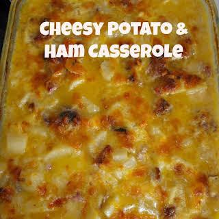 Cheesy Potato Casserole With Ham Recipes.
