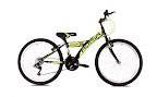 "Bicikl 24"" Stinger crni - zeleni"