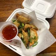 Fried Veggie Dumplings