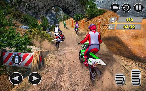 Télécharger Gratuit dirt bike offroad trial jeux de course extrêmes mod apk screenshots 1