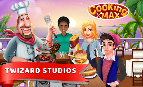 Cooking Max – Mad Chef's restaurant game 1