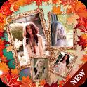 Scrap book collage maker app icon
