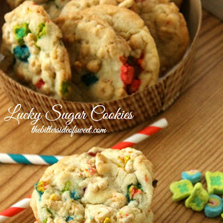 Lucky Sugar Cookies (Luck of the Irish Week Day#2)
