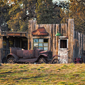 Fill'er Up by Earl Heister - Transportation Automobiles (  )