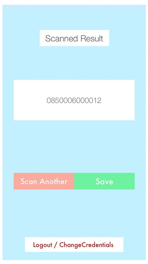 CIRCE Barcode To Salesforce- screenshot