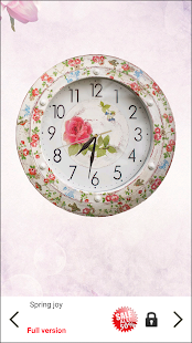 Shabby Chic Clocks Live Wallpaper- screenshot thumbnail