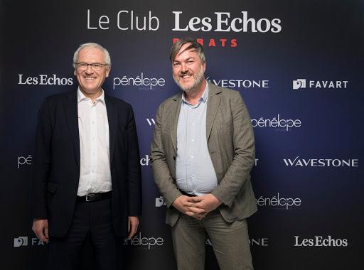 Club Les Echos Débats avec Jean-Bernard Lévy, Président-Directeur Général d'EDF - Favart