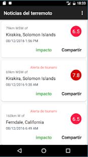 Earthquake News - náhled