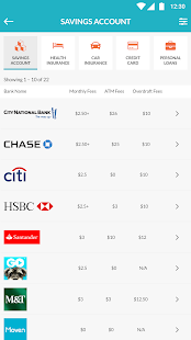 Moneybrag - free financial product comparison- screenshot thumbnail
