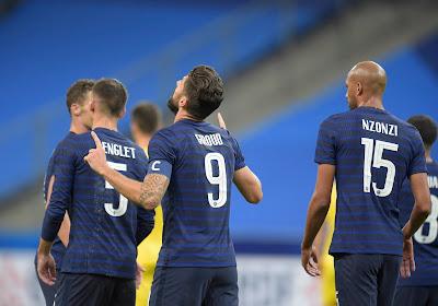 Un double pas dans l'histoire du football français pour Olivier Giroud