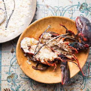 Grilled Lobsters With Vanilla Cream Sauce (Langouste à la Vanille).