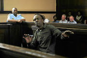 Hip-hop artist Thulani Ngcobo,  better known as Pitch Black Afro,  in the Johannesburg magistrate's court.