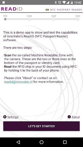 ReadID - NFC Passport Reader 1.21.4 gameplay | AndroidFC 1