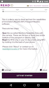 ReadID - NFC Passport Reader- screenshot thumbnail