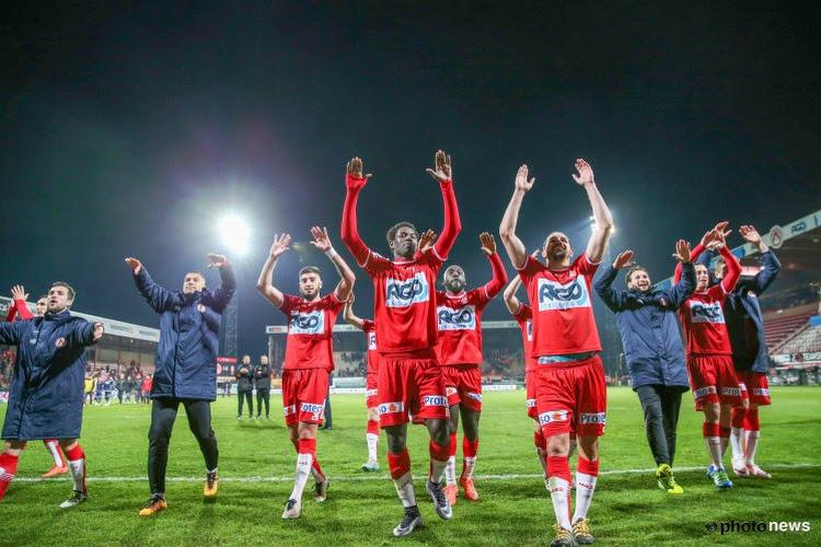 Suspens tot de allerlaatste minuut, maar ingevallen Sarr kopt Kortrijk naar groepswinst in play-off 2A