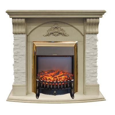 Каминокомплект Real-flame Athena std/eug wt + fobos lux
