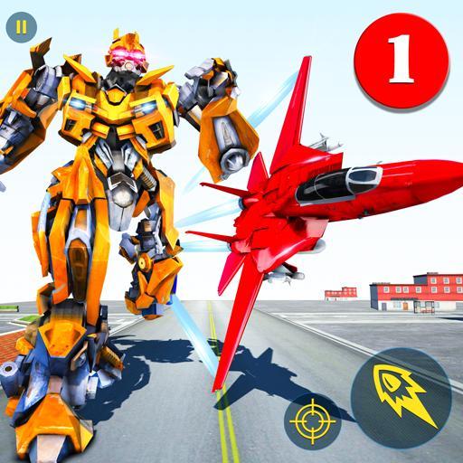 Air Robot Jeu - En volant Robot Transformant Avion