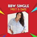 BBW SINGLE MEET & DATE icon