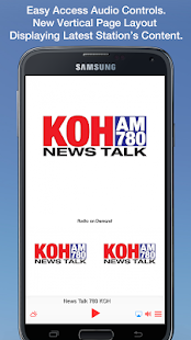 News Talk 780 KOH- screenshot thumbnail