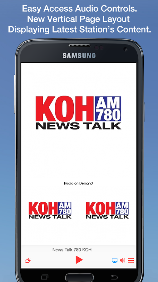News Talk 780 KOH- screenshot