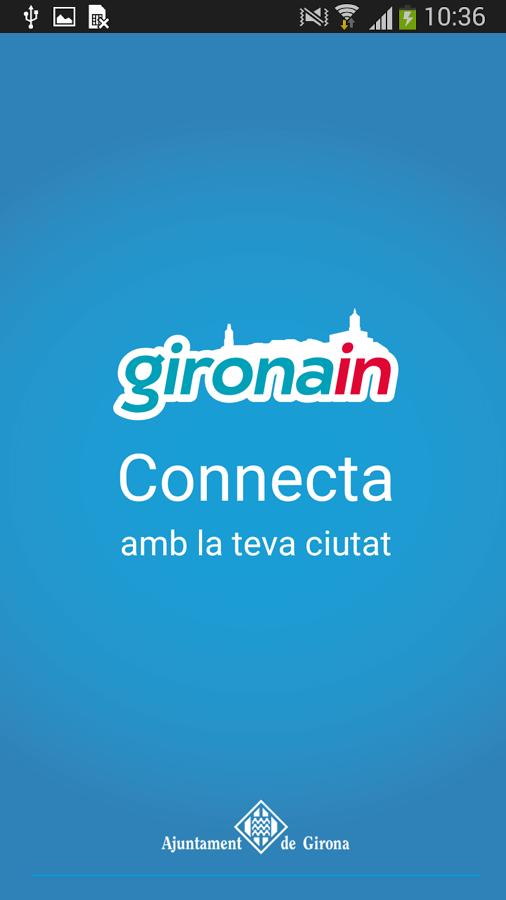 Gironain. Ajuntament Girona- screenshot