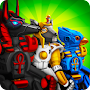 Robots Vs Zombies: Transform To Race And Fight APK icon