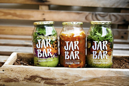 Friendly food: Frustration at not being able to find healthy meals to eat at work inspired former office worker Ella Bertie-Roberts to start the JarBar from her kitchen in Woodstock. Picture: SUPPLIED