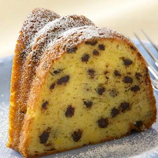 Vanilla Rich Chip Cake.