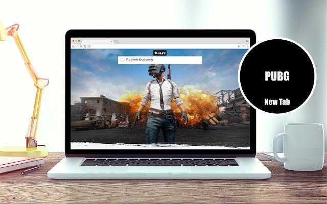 PlayerUnknown's Battlegrounds New Tab Theme
