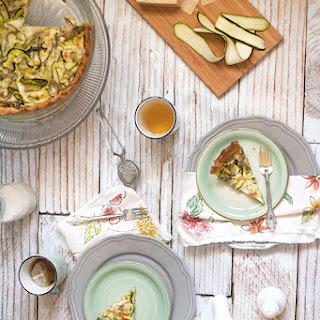 Zucchini-Parmesan Quiche
