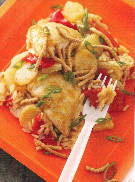 Asian Pineapple Chicken Recipe
