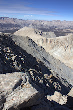 Photo: From the Mount Whitney summit, west