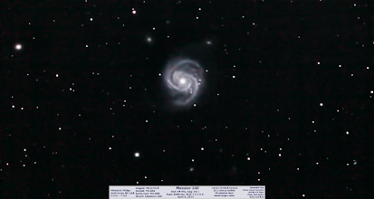"Photo: Messier 100 everyone! This is from exactly 1 week ago and a nice ~1hr soak of light from 55Million LY away.  A nice looking spiral for a change and the Coup de grâce of the night and month of DSO observing so far, perhaps best since I got +Akule  I do hope to do much better and have learned a lot about proper ISO, exposures  guiding with an OAG, etc. I really need to get a good 2-3 hrs of light on one subject but in my quest for a complete messier list, I skip around too much.  I hope to get complete stats on my messier progress, but I'm assuming to be well more than halfway between this scope and the previous 6"" schmidt-newt. Here is the last 'current' image and your 1-a-day spring cleaning image day 54!!"
