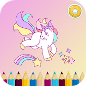 Tải Unicorn Coloring Book For Kids APK