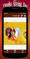Thanksgiving profile pic Frame - screenshot thumbnail 05