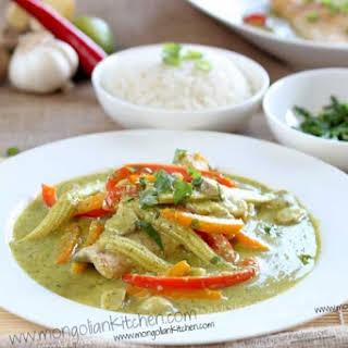 Thai Green Fish Curry.