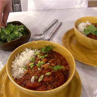 Katherine Heigl's Three-Bean Chili.