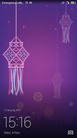 android Honor 4X Diwali Theme Screenshot 0