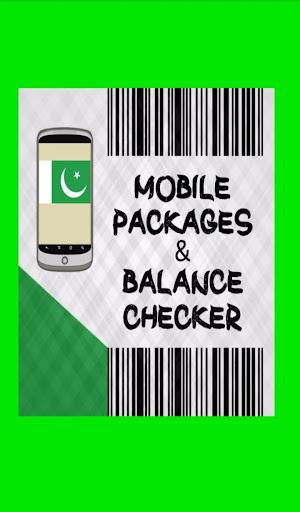 Mobile Balance Check Pakistan