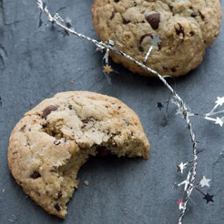 Oat and Brown Rice Flour Chocolate Chip Cookies (GF).
