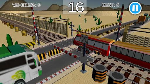 Télécharger Gratuit Code Triche Train Railroad Crossing Simulation MOD APK 1