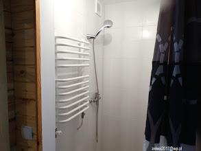 Photo: Prysznic w pokojach 1,2, 3 na parterze.