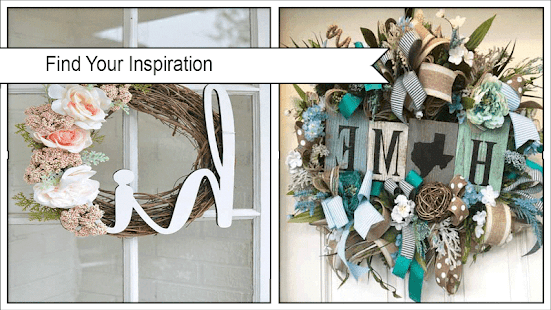 Beautiful DIY Summer Wreath Designs - náhled