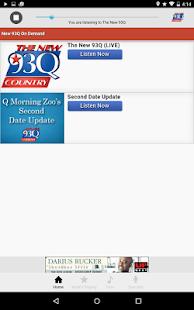 The New 93Q Houston - screenshot thumbnail
