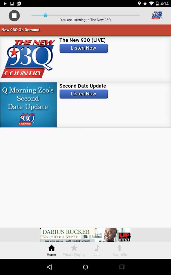 The New 93Q Houston - screenshot