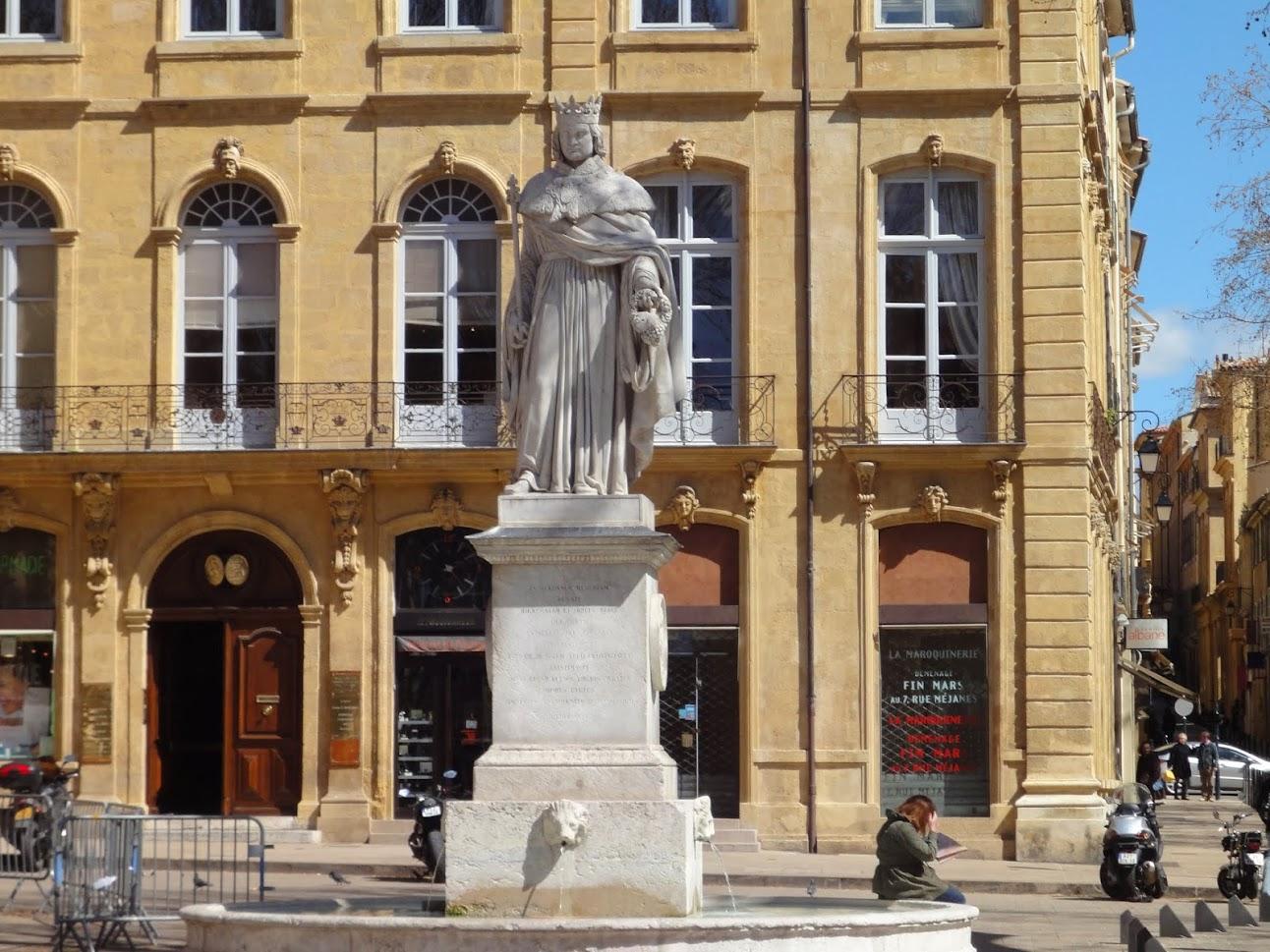 Statue du Roi René à Aix-en-Provence